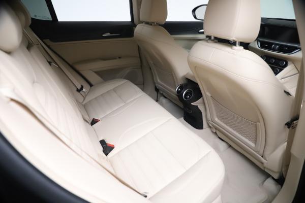 New 2021 Alfa Romeo Stelvio Ti Q4 for sale $54,755 at Maserati of Westport in Westport CT 06880 22