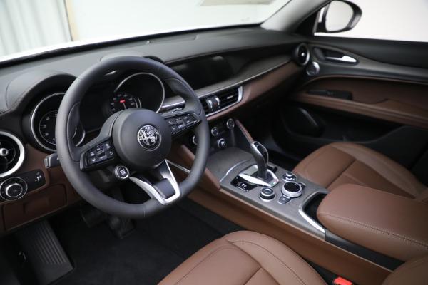 New 2021 Alfa Romeo Stelvio Ti Q4 for sale $54,840 at Maserati of Westport in Westport CT 06880 13