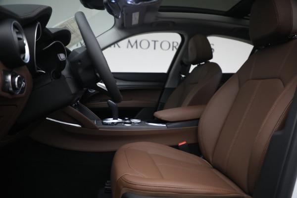 New 2021 Alfa Romeo Stelvio Ti Q4 for sale $54,840 at Maserati of Westport in Westport CT 06880 14
