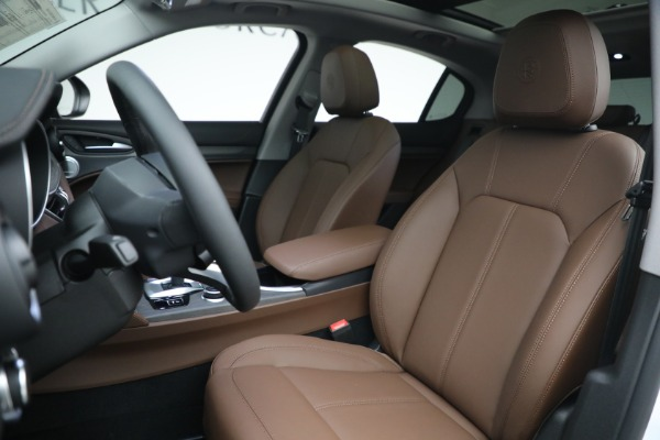 New 2021 Alfa Romeo Stelvio Ti Q4 for sale $54,840 at Maserati of Westport in Westport CT 06880 15