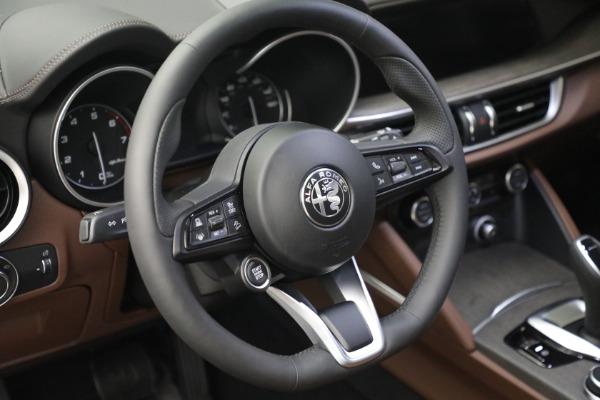 New 2021 Alfa Romeo Stelvio Ti Q4 for sale $54,840 at Maserati of Westport in Westport CT 06880 17