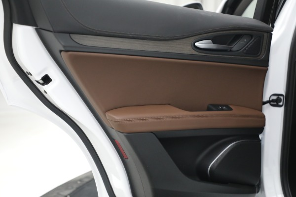 New 2021 Alfa Romeo Stelvio Ti Q4 for sale $54,840 at Maserati of Westport in Westport CT 06880 26