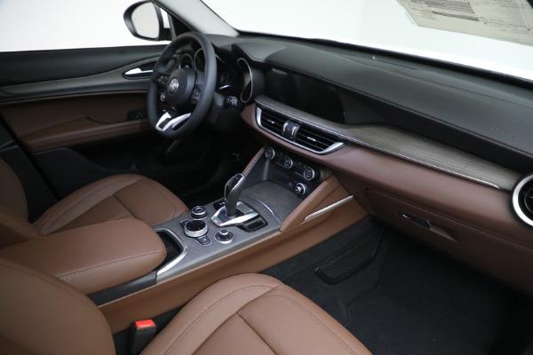 New 2021 Alfa Romeo Stelvio Ti Q4 for sale $54,840 at Maserati of Westport in Westport CT 06880 27