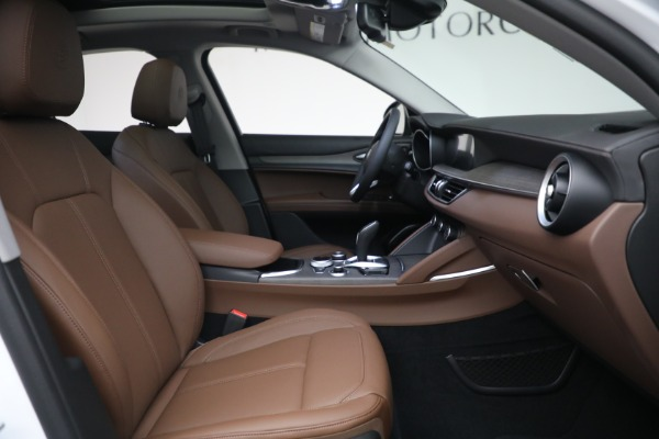 New 2021 Alfa Romeo Stelvio Ti Q4 for sale $54,840 at Maserati of Westport in Westport CT 06880 28