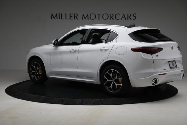 New 2021 Alfa Romeo Stelvio Ti Q4 for sale $54,840 at Maserati of Westport in Westport CT 06880 4