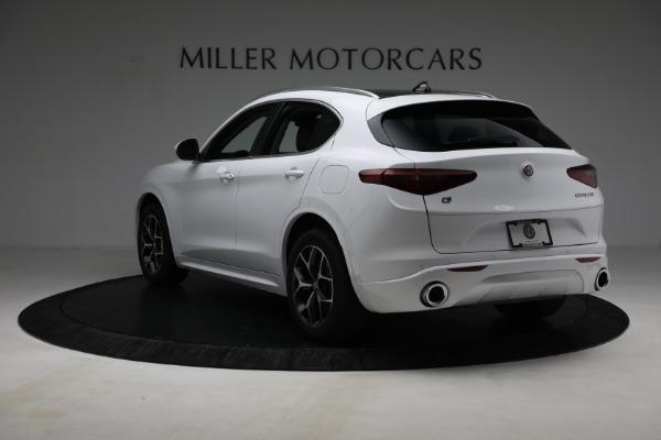 New 2021 Alfa Romeo Stelvio Ti Q4 for sale $54,840 at Maserati of Westport in Westport CT 06880 5