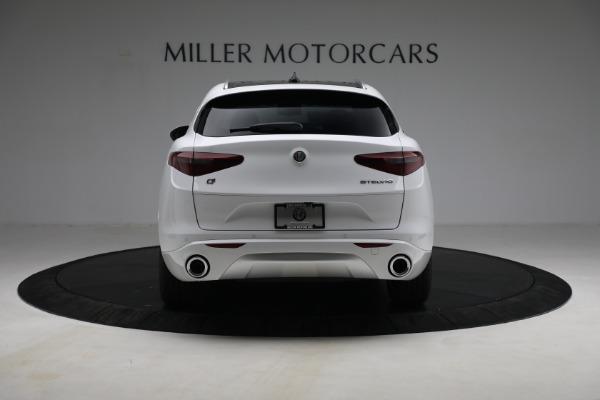 New 2021 Alfa Romeo Stelvio Ti Q4 for sale $54,840 at Maserati of Westport in Westport CT 06880 6
