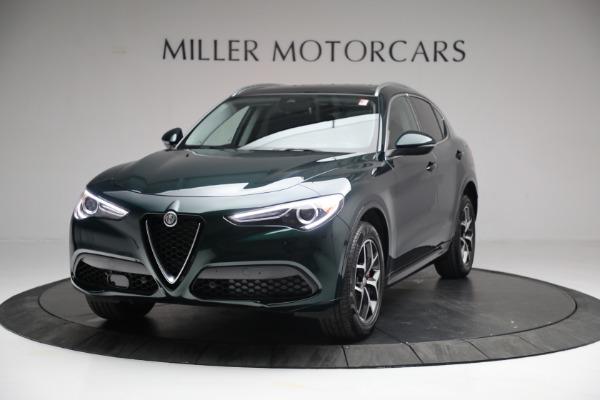 New 2021 Alfa Romeo Stelvio Ti Q4 for sale $51,950 at Maserati of Westport in Westport CT 06880 1