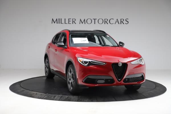 New 2021 Alfa Romeo Stelvio Q4 for sale $50,535 at Maserati of Westport in Westport CT 06880 14