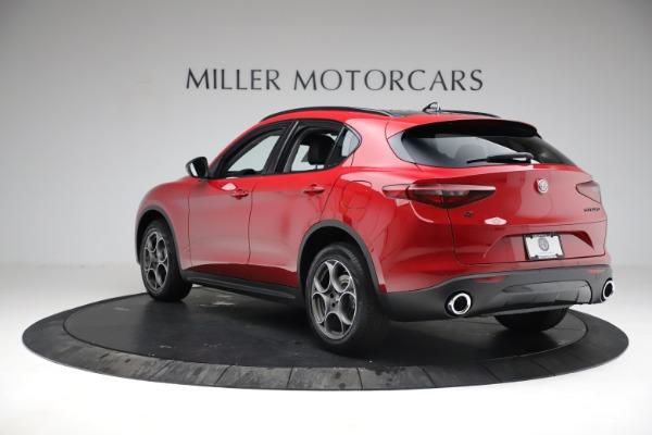 New 2021 Alfa Romeo Stelvio Q4 for sale $50,535 at Maserati of Westport in Westport CT 06880 7