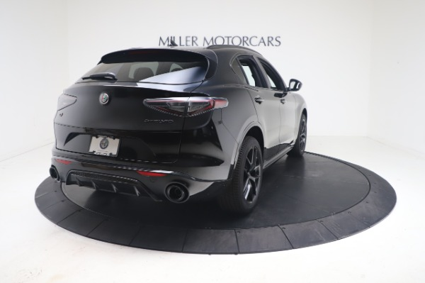 New 2021 Alfa Romeo Stelvio Ti Sport Q4 for sale $56,900 at Maserati of Westport in Westport CT 06880 7