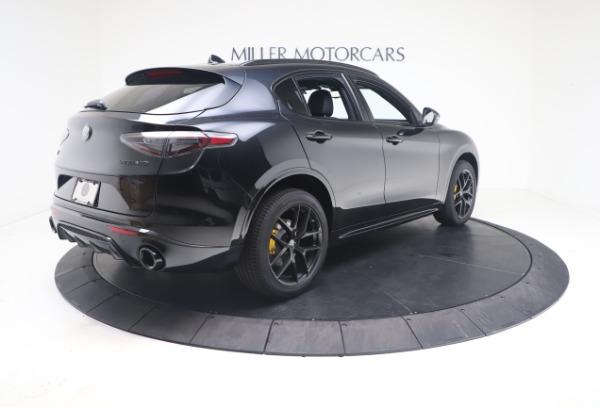 New 2021 Alfa Romeo Stelvio Ti Sport Q4 for sale $56,900 at Maserati of Westport in Westport CT 06880 8