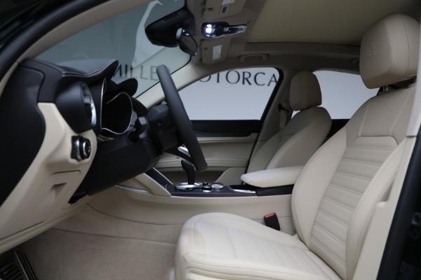 New 2021 Alfa Romeo Stelvio Ti Q4 for sale $55,205 at Maserati of Westport in Westport CT 06880 14