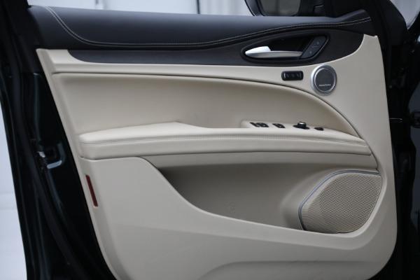 New 2021 Alfa Romeo Stelvio Ti Q4 for sale $55,205 at Maserati of Westport in Westport CT 06880 17