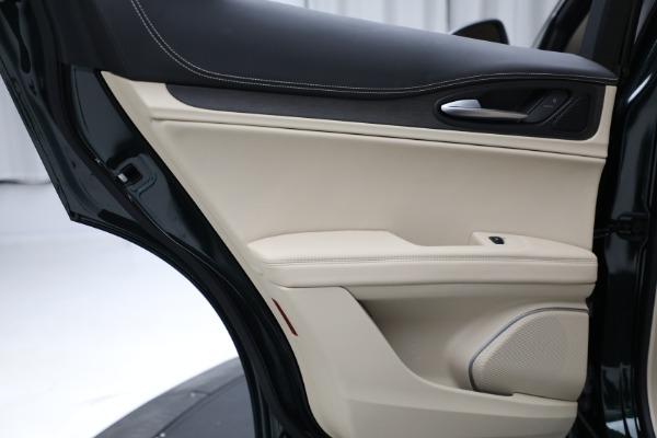 New 2021 Alfa Romeo Stelvio Ti Q4 for sale $55,205 at Maserati of Westport in Westport CT 06880 22