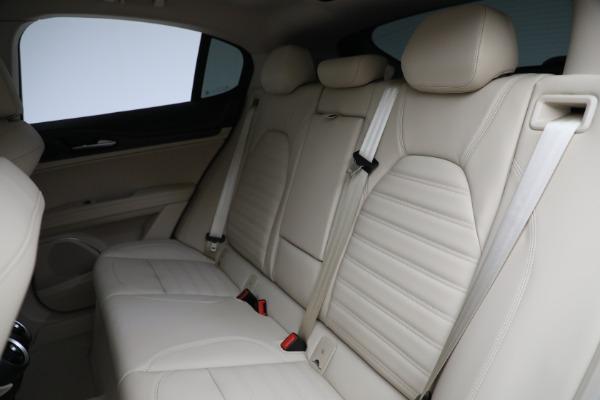 New 2021 Alfa Romeo Stelvio Ti Q4 for sale $55,205 at Maserati of Westport in Westport CT 06880 25
