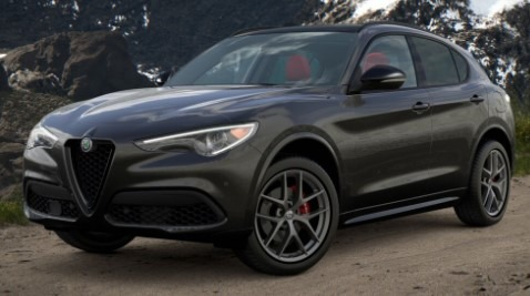 New 2021 Alfa Romeo Stelvio Ti Sport Q4 for sale Sold at Maserati of Westport in Westport CT 06880 1