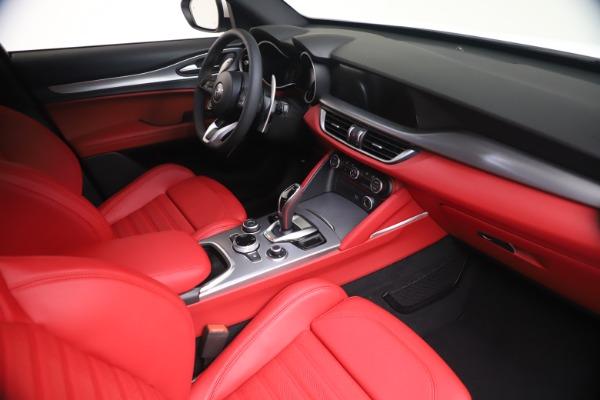 New 2021 Alfa Romeo Stelvio Ti Sport Q4 for sale Call for price at Maserati of Westport in Westport CT 06880 18