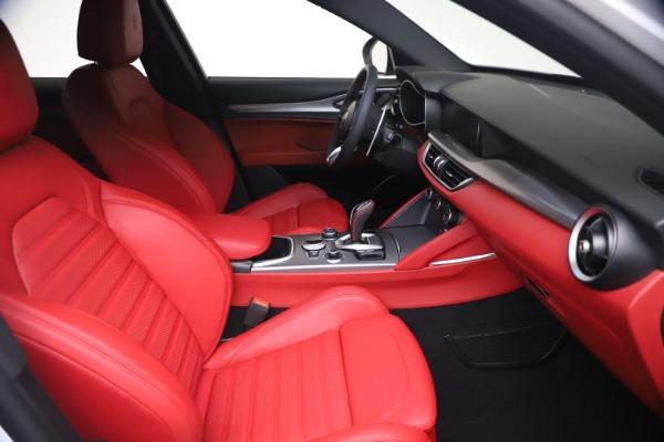 New 2021 Alfa Romeo Stelvio Ti Sport Q4 for sale Call for price at Maserati of Westport in Westport CT 06880 19
