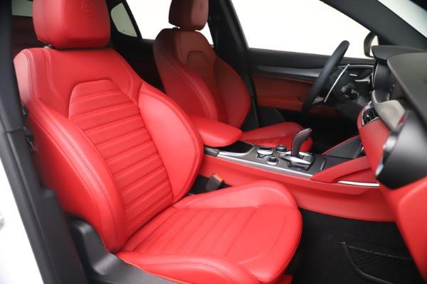 New 2021 Alfa Romeo Stelvio Ti Sport Q4 for sale Call for price at Maserati of Westport in Westport CT 06880 20