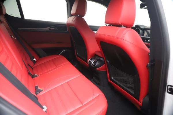 New 2021 Alfa Romeo Stelvio Ti Sport Q4 for sale Call for price at Maserati of Westport in Westport CT 06880 21