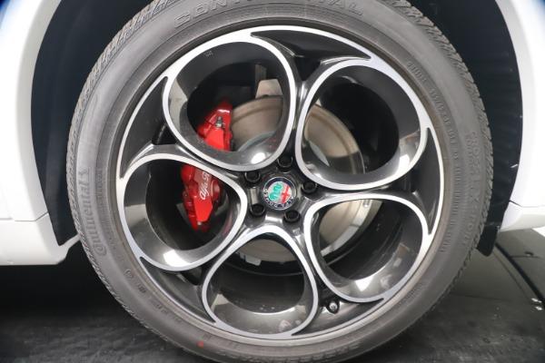New 2021 Alfa Romeo Stelvio Ti Sport Q4 for sale Call for price at Maserati of Westport in Westport CT 06880 22