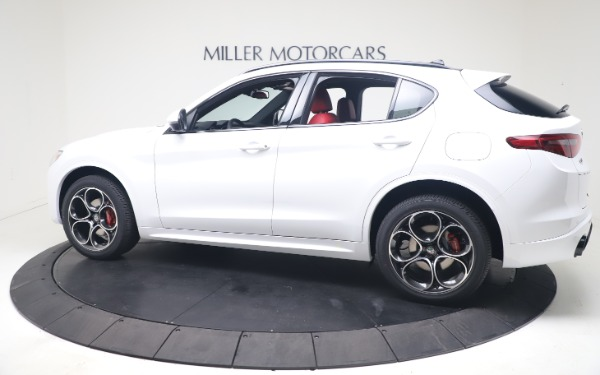 New 2021 Alfa Romeo Stelvio Ti Sport Q4 for sale Call for price at Maserati of Westport in Westport CT 06880 4