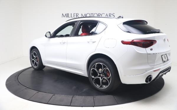 New 2021 Alfa Romeo Stelvio Ti Sport Q4 for sale Call for price at Maserati of Westport in Westport CT 06880 5