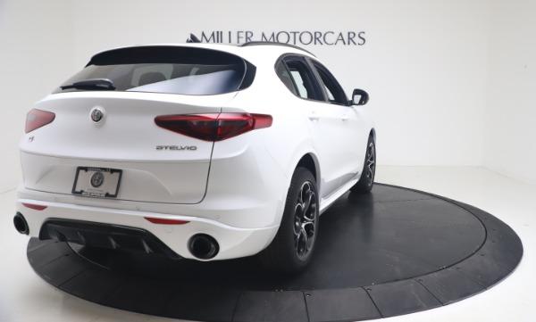 New 2021 Alfa Romeo Stelvio Ti Sport Q4 for sale Call for price at Maserati of Westport in Westport CT 06880 7