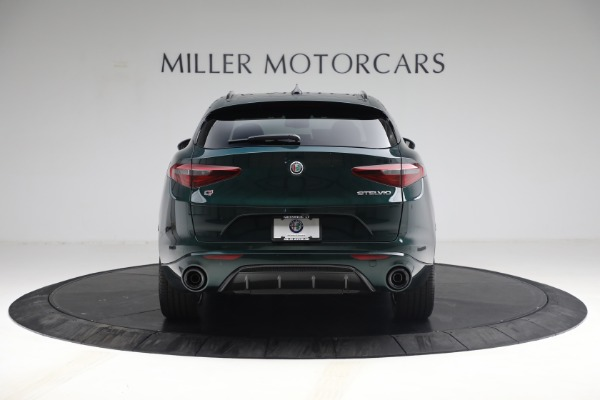 New 2021 Alfa Romeo Stelvio Ti Sport Q4 for sale Sold at Maserati of Westport in Westport CT 06880 6