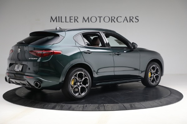 New 2021 Alfa Romeo Stelvio Ti Sport Q4 for sale Sold at Maserati of Westport in Westport CT 06880 8
