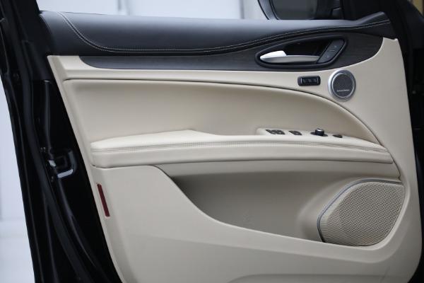 New 2021 Alfa Romeo Stelvio Ti Q4 for sale $57,400 at Maserati of Westport in Westport CT 06880 13