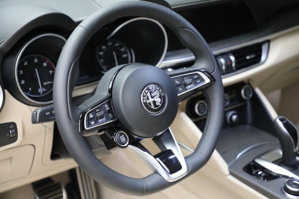 New 2021 Alfa Romeo Stelvio Ti Q4 for sale $57,400 at Maserati of Westport in Westport CT 06880 19