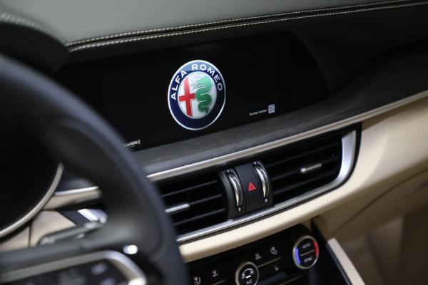 New 2021 Alfa Romeo Stelvio Ti Q4 for sale $57,400 at Maserati of Westport in Westport CT 06880 21