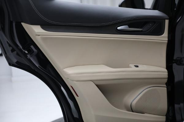 New 2021 Alfa Romeo Stelvio Ti Q4 for sale $57,400 at Maserati of Westport in Westport CT 06880 24