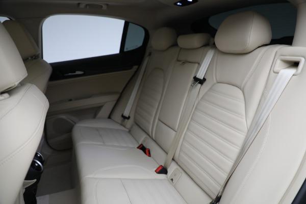 New 2021 Alfa Romeo Stelvio Ti Q4 for sale $57,400 at Maserati of Westport in Westport CT 06880 27