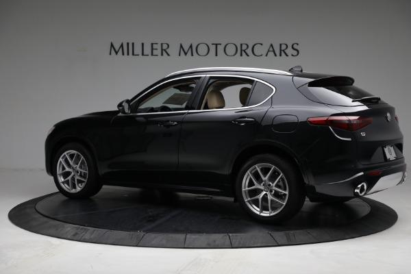 New 2021 Alfa Romeo Stelvio Ti Q4 for sale $57,400 at Maserati of Westport in Westport CT 06880 4