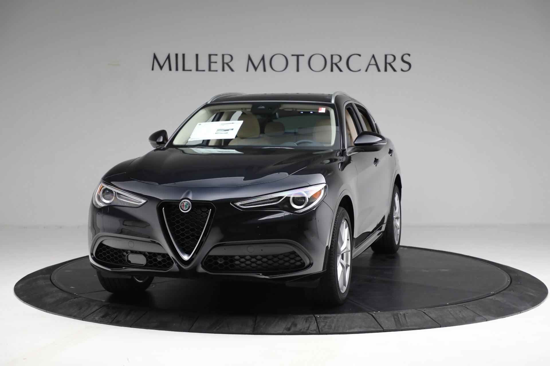 New 2021 Alfa Romeo Stelvio Ti Q4 for sale $57,400 at Maserati of Westport in Westport CT 06880 1