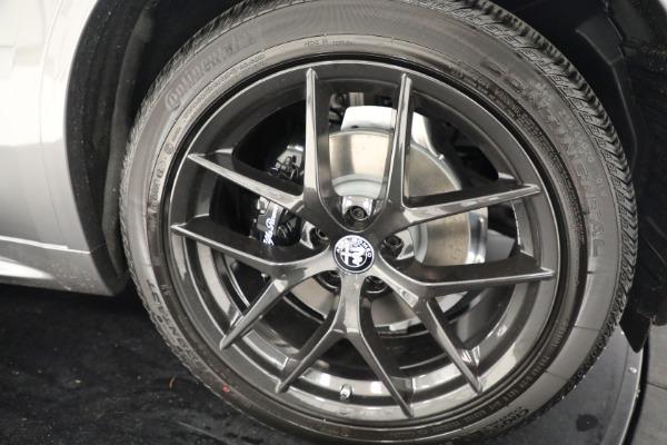 New 2021 Alfa Romeo Stelvio Ti Q4 for sale $54,400 at Maserati of Westport in Westport CT 06880 25