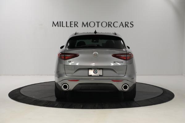 New 2021 Alfa Romeo Stelvio Ti Q4 for sale $54,400 at Maserati of Westport in Westport CT 06880 6