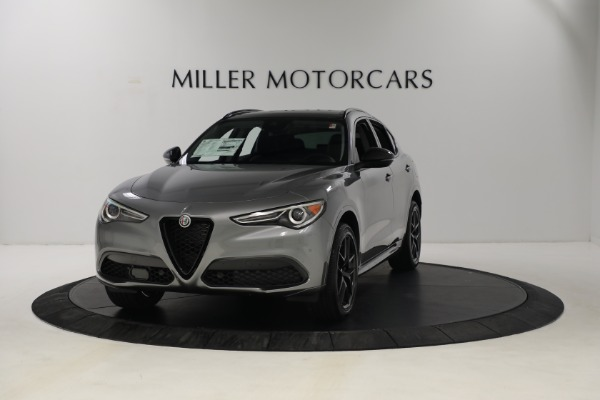 New 2021 Alfa Romeo Stelvio Ti Q4 for sale $54,400 at Maserati of Westport in Westport CT 06880 1