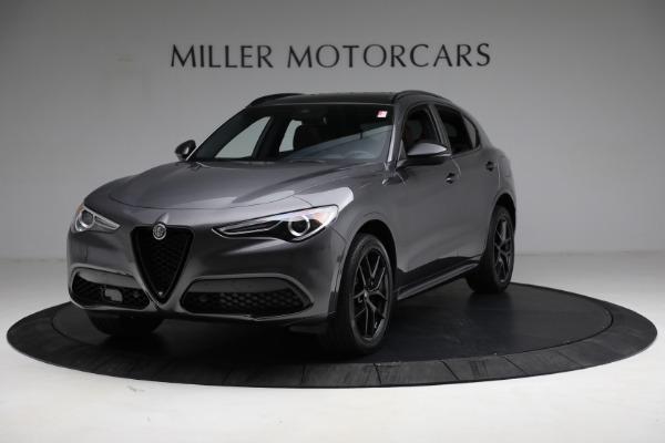 New 2021 Alfa Romeo Stelvio Ti Sport Q4 for sale $55,205 at Maserati of Westport in Westport CT 06880 1