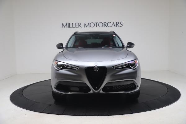 New 2021 Alfa Romeo Stelvio Ti Q4 for sale $54,400 at Maserati of Westport in Westport CT 06880 12