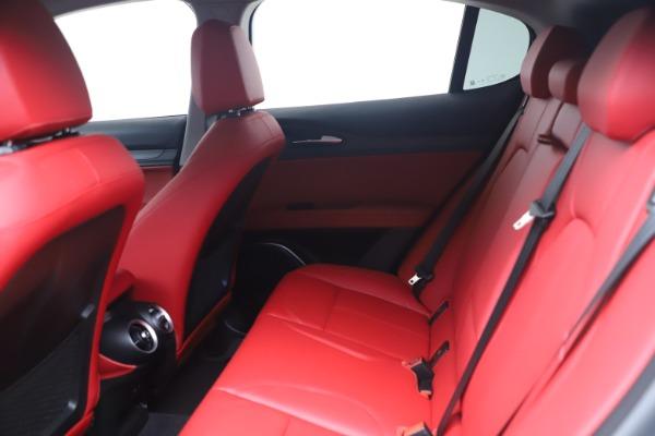 New 2021 Alfa Romeo Stelvio Ti Q4 for sale $54,400 at Maserati of Westport in Westport CT 06880 14