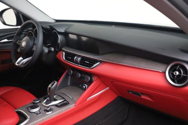New 2021 Alfa Romeo Stelvio Ti Q4 for sale $54,400 at Maserati of Westport in Westport CT 06880 15