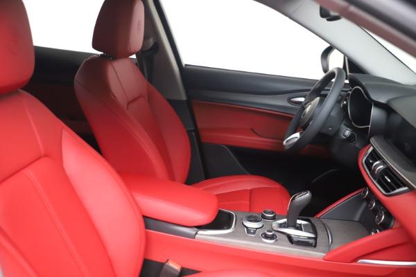 New 2021 Alfa Romeo Stelvio Ti Q4 for sale $54,400 at Maserati of Westport in Westport CT 06880 16