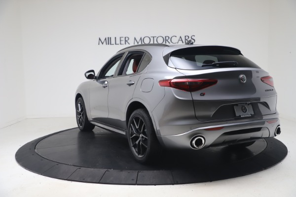 New 2021 Alfa Romeo Stelvio Ti Q4 for sale $54,400 at Maserati of Westport in Westport CT 06880 5