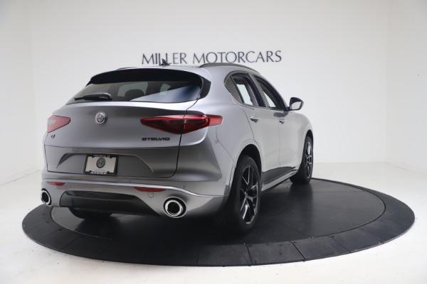 New 2021 Alfa Romeo Stelvio Ti Q4 for sale $54,400 at Maserati of Westport in Westport CT 06880 7