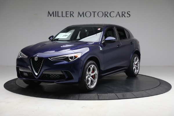 New 2021 Alfa Romeo Stelvio Quadrifoglio for sale $88,550 at Maserati of Westport in Westport CT 06880 2