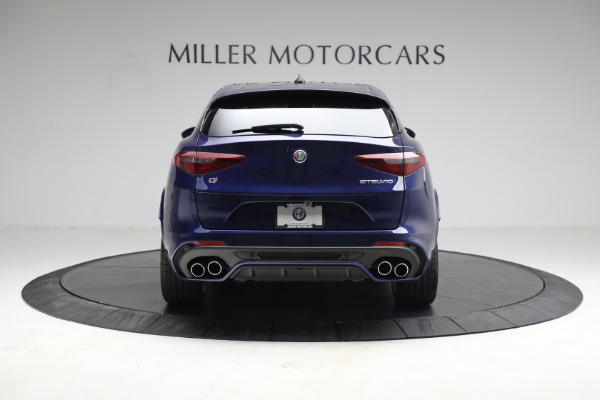New 2021 Alfa Romeo Stelvio Quadrifoglio for sale $88,550 at Maserati of Westport in Westport CT 06880 7